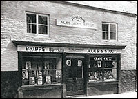 1938 photograph of Gilby's Off-licence.