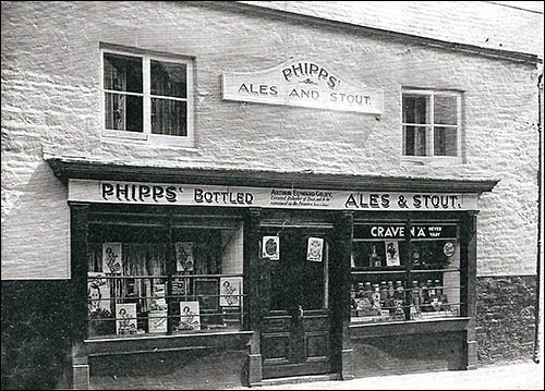 Photograph of Gilby's Off-licence taken in 1938
