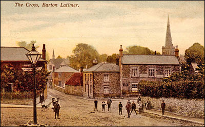 Coloured postcard showing the Thatcher's Arms dated 1905.