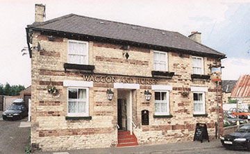 Photograph of the Waggon & Horses in recent times.