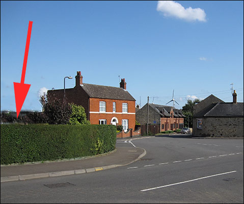 The site of the proposed pub