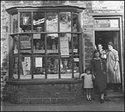 Ada mason's shop - two doors down from The Duke's Arms