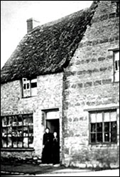 The 18th century property c1898 when used as Barlows Stores
