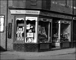 Bennett's chemist shop before its purchase by the Co-op