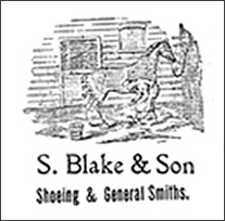 Advert for Blake's Smithy