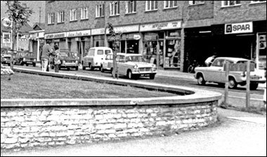 The Churchill Way shops in the early 1970s