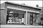 The 1950s grocery and butchery store.