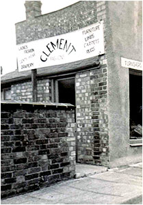 Taf Clement's shop at 9 Newman Street