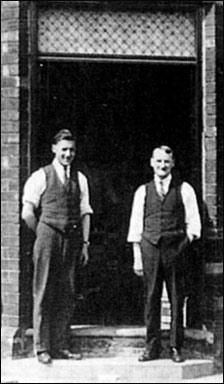 Edward Walsh and his father Frederick.