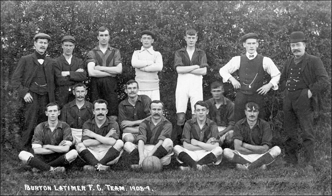 Burton Latimer Football Club : Season 1908-9