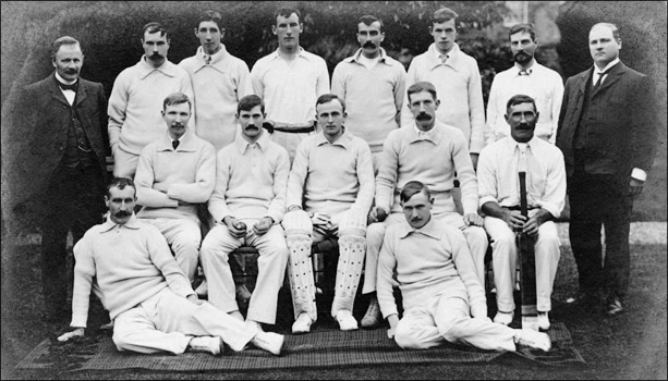 Burton Latimer Cricket Club 1905