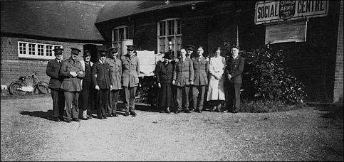 A gathering of Church Army Captains at Preston Hall, sometime in the 1920s