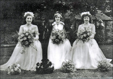1951 Queen Margaret Mould with Sadie Williamson and Gill Keightley