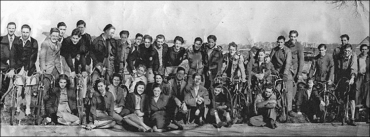 Kettering Friendly Cycle Club - 1948
