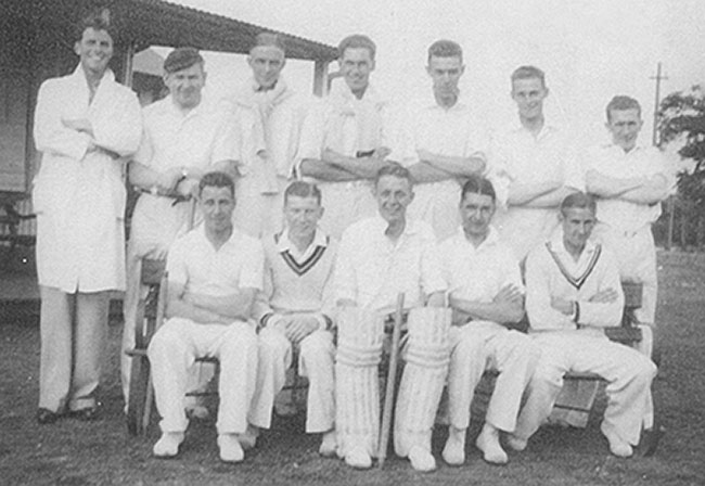 Probably a Baptist Church Cricket XI - 1934