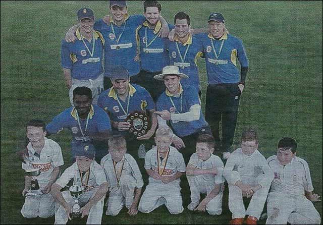 Photograph of Under 11's Cricket Team