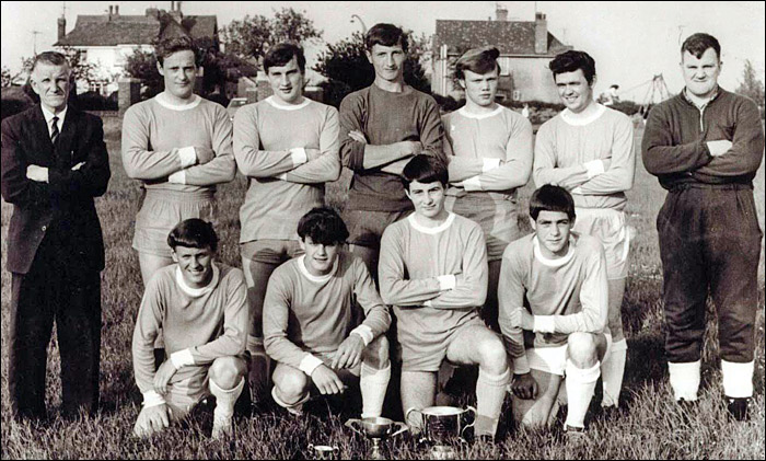 A Burton Youth football team photographed in the mid 1960's