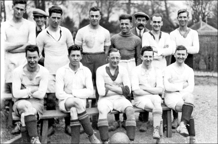 A Jack Benford Charity Football XI - early 1930's