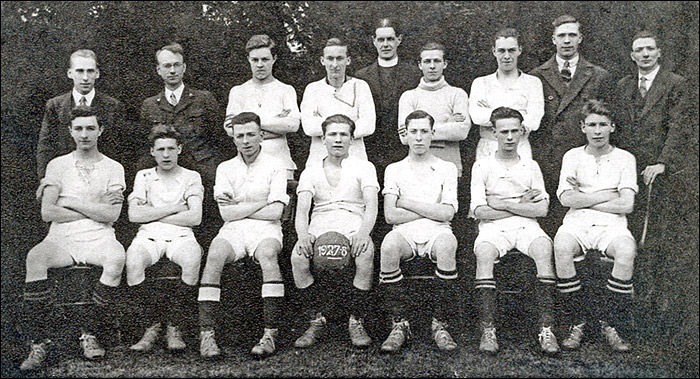 The Burton Latimer St Mary's Youth team - 1927/8