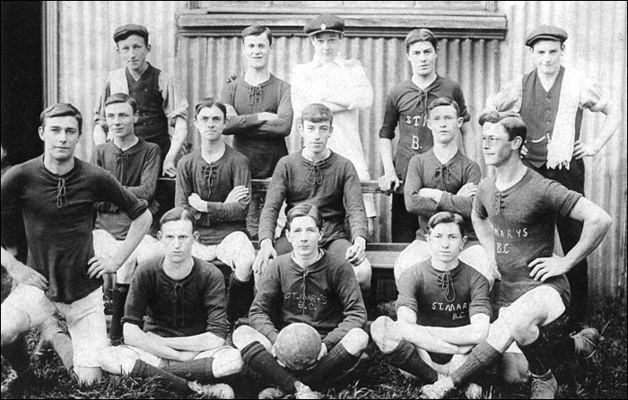 Burton Latimer St Mary's FC - possibly early 1900's