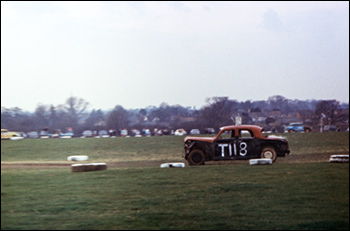Banger Racing at Burton Wold 1972