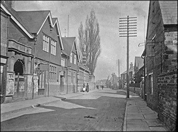 High Street c1920 with the cinema entrance and the Coffee House