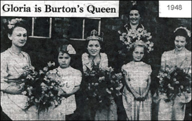 1948 crowning of Gloria Smart as Gala Queen