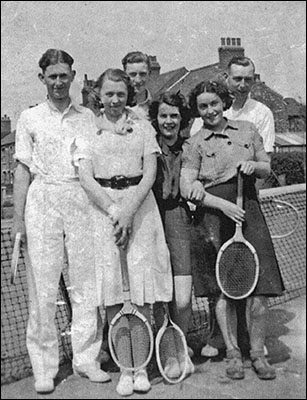 "Tennis at the ""Rec"" in the 1930's"