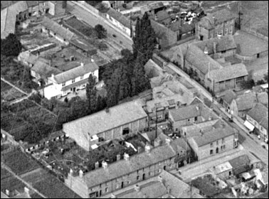 An aerial view of the Cinema taken in 1923