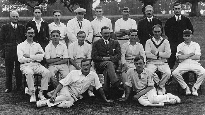 Cricket photo Burton Latimer Cricket Club c1924