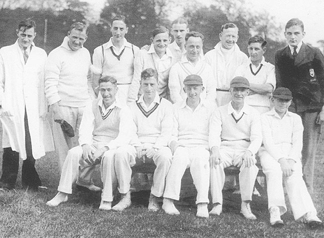 1936 Burton Latimer Cricket Team