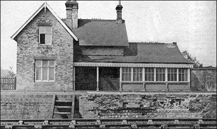Photograph of Burton Laytimer Railway Station and House 1957