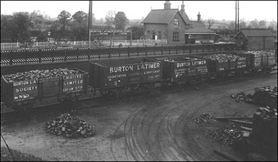 Photographs showing Burton Latimer Co-op Society Coal Wagons c 1932.