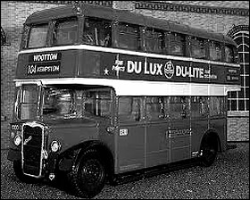 A United Council double-decker, of the type seen in the 1950s