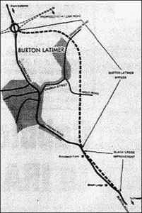 Diagram of the planned bypass