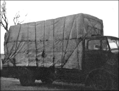 A Grants lorry delivering Weetabix in the 1940s