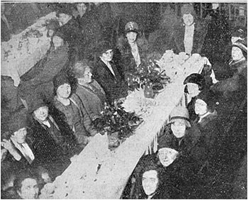 Women's Section tea January 1931