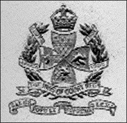 Cap Badge of the Inns of Court Regiment
