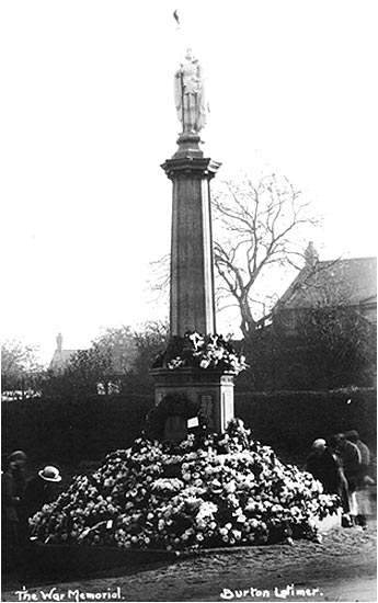 Burton Latimer War Memorial