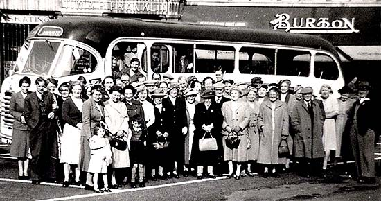 Members outing 1950s